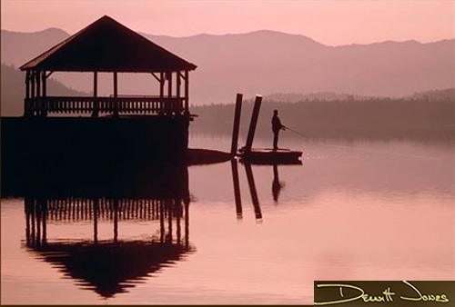 Photo of Donner Lake by Dewitt Jones